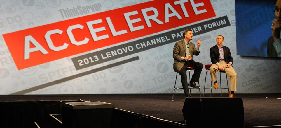 Doug Lipp Lenovo Channel Partner Forum, 2013