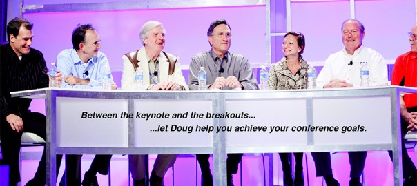 Conference Moderator Doug Lipp Leadership Speaker