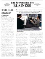 rare care - Sacramento Bee Business