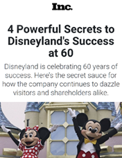 4 Powerful Secrets to Disneyland's Success at 60
