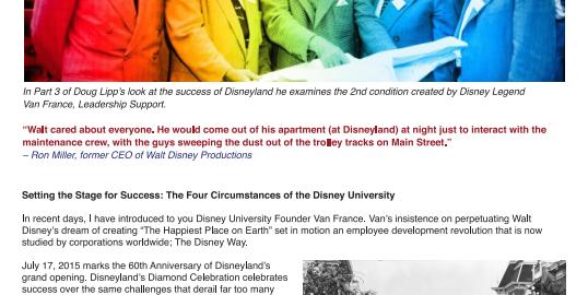 Disneyland Thrives At 60 – Part 3