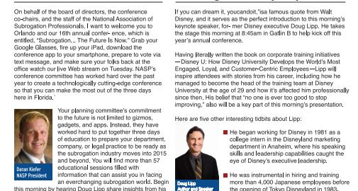 Articles Doug Lipp Disney Institute Keynote Speaker