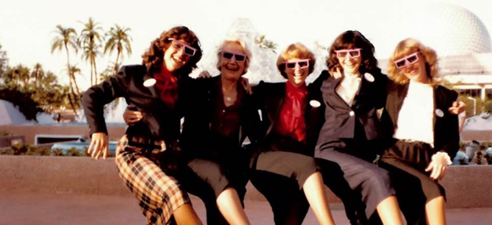 1982 - Epcot Center Grand Opening Week with Disney Legend Cicely Rigdon
